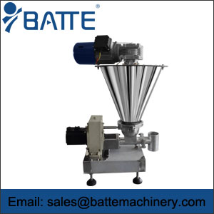 Single screw loss in weight metering feeder