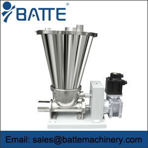 Single Screw Volumetric Feeder