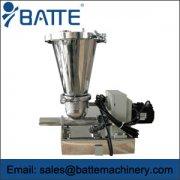 weight loss type feeding machine operation