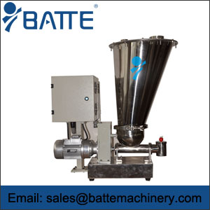 Twin screw loss in weight feeder